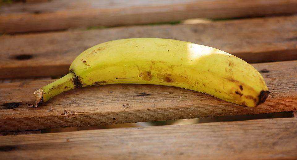 Banana, Ripe, Fruit, Food, Vitamins, Healthy, Yellow