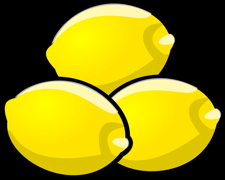 Lemons, Fruit, Food, Fresh, Yellow, Ripe, Vitamins