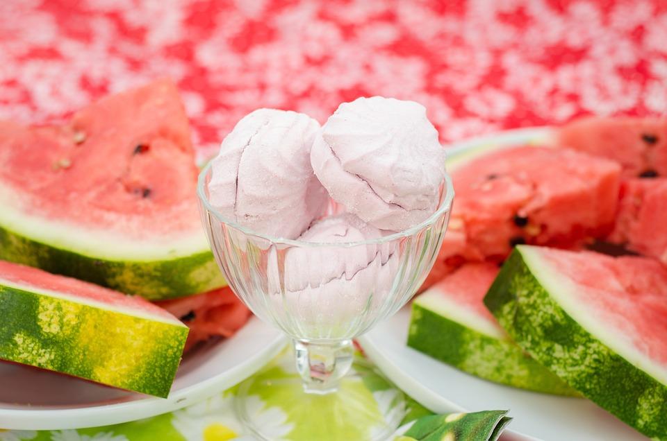 Watermelon, Marshmallow, Pink, Candy, Food, Treats