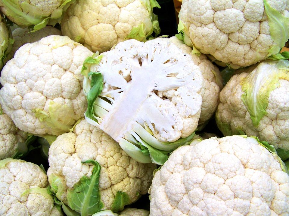 Cauliflower, White Vegetable, Food