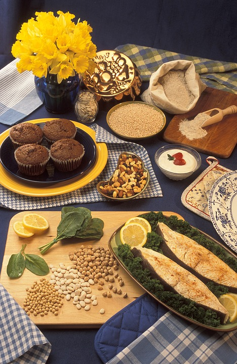 Presentation Table, Foods Rich In Magnesium