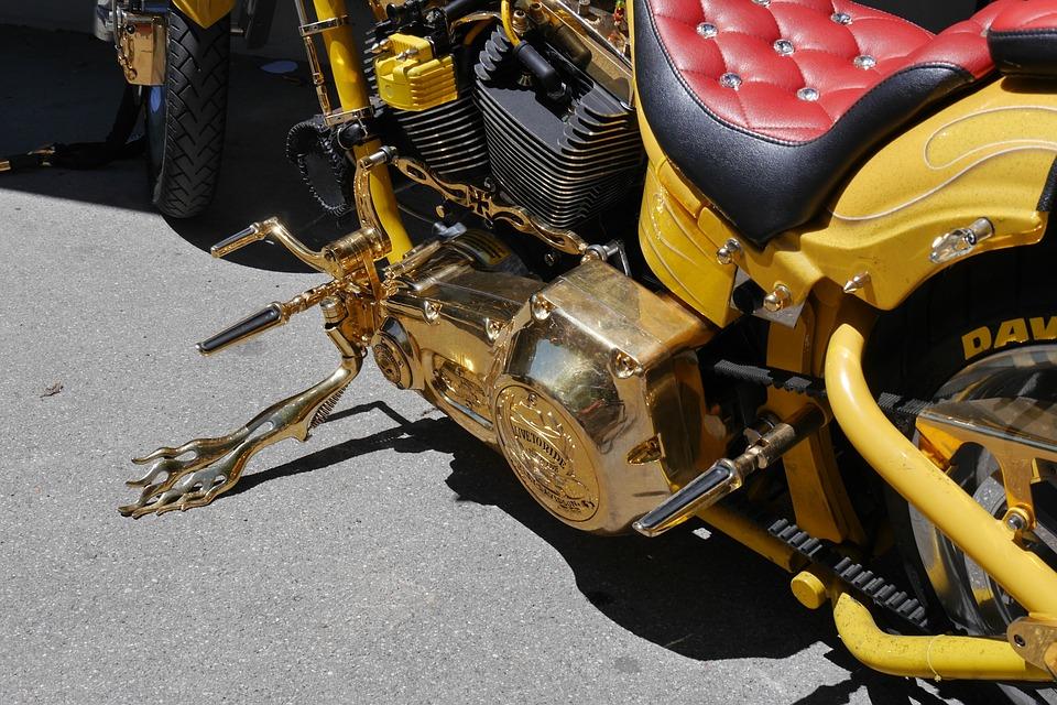 Harley Davidson, Motorcycle, Vehicle, Foot Pedal