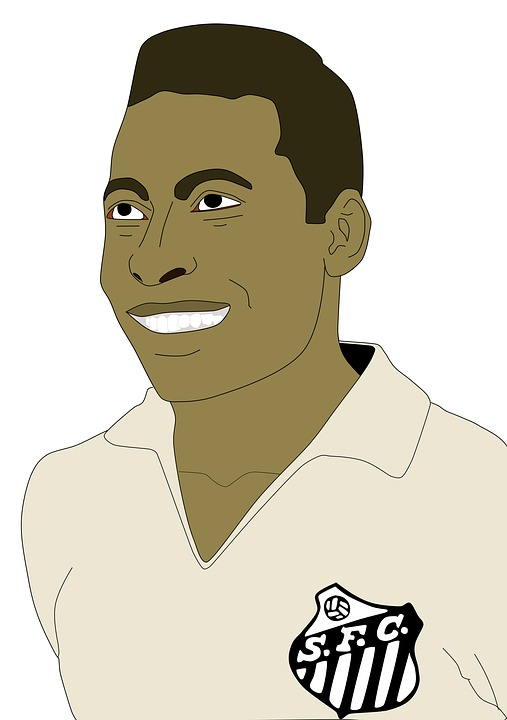Pelé, Football, Black, Sport