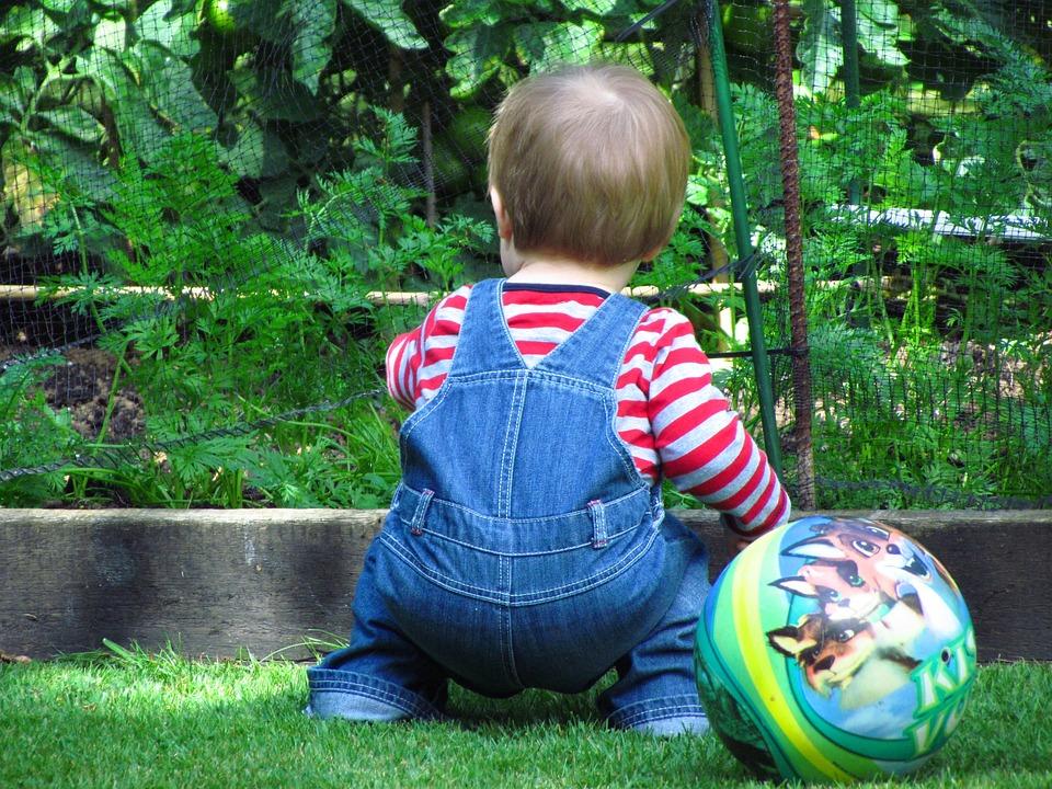 Kid, Play, Explore, Football, Ball, Summer, Child