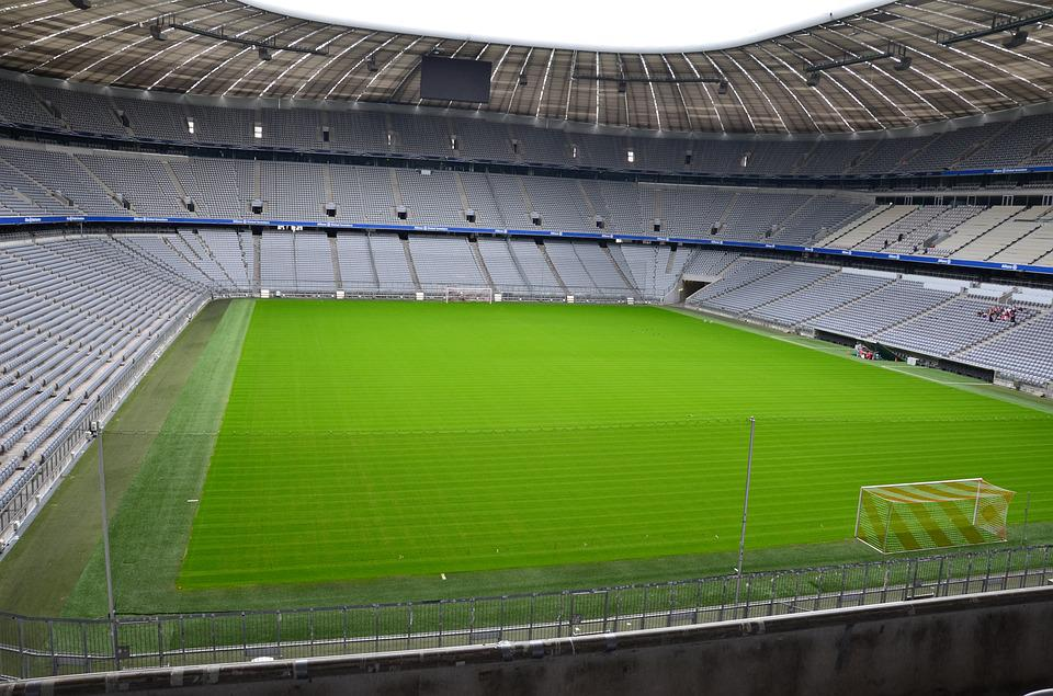 Stadium, Grandstand, Field, Football, Fc Bayern Munich
