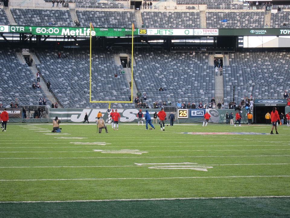 Metlife Stadium, Football Field, Playing Field, Sports