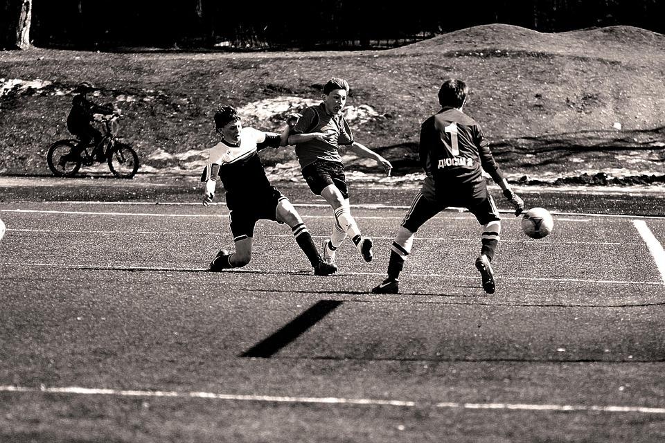 Football, Boys, Game