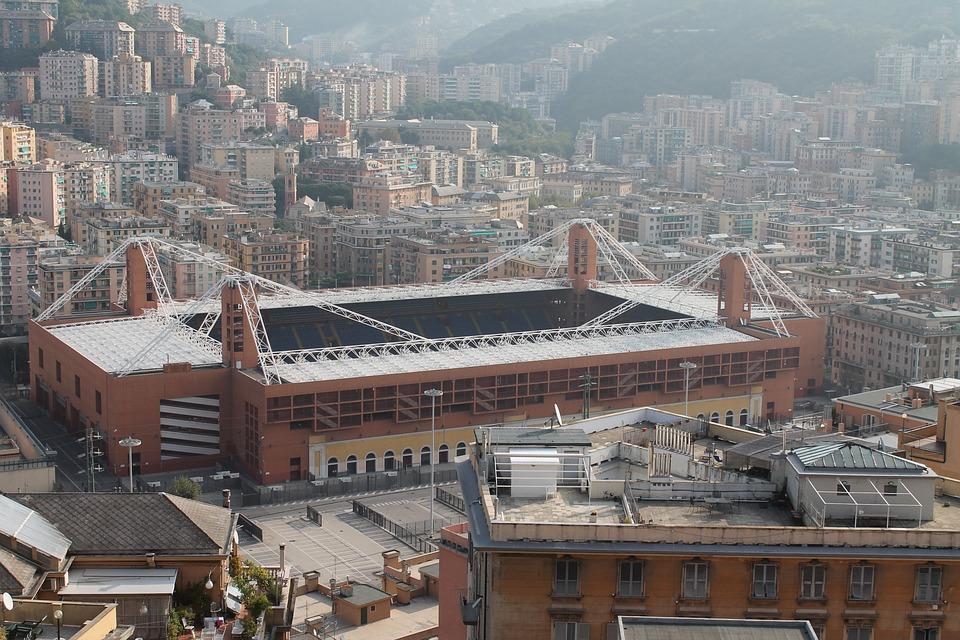 Stadium, Football, Genoa, Mac, Sampdoria