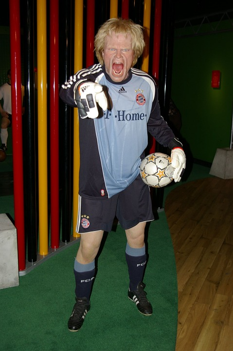 Madame Tussauds, Kahn, Football