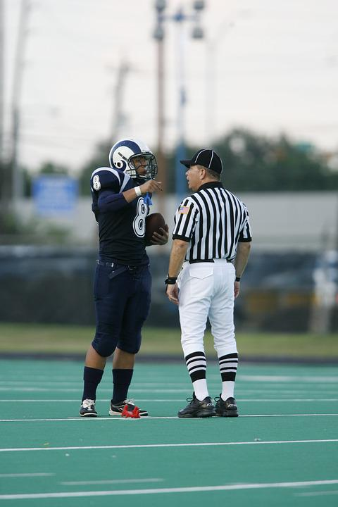 Football Official, Referee, Football Game, Discussion