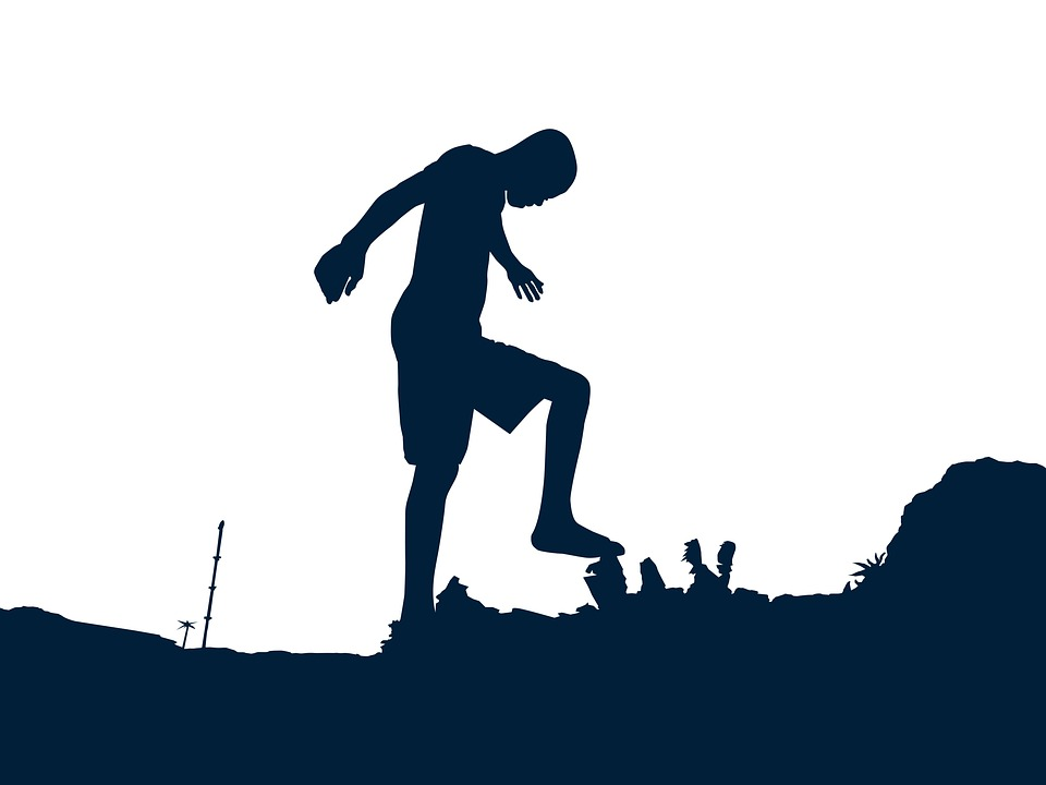 Silhouette, Boy, Football, Png