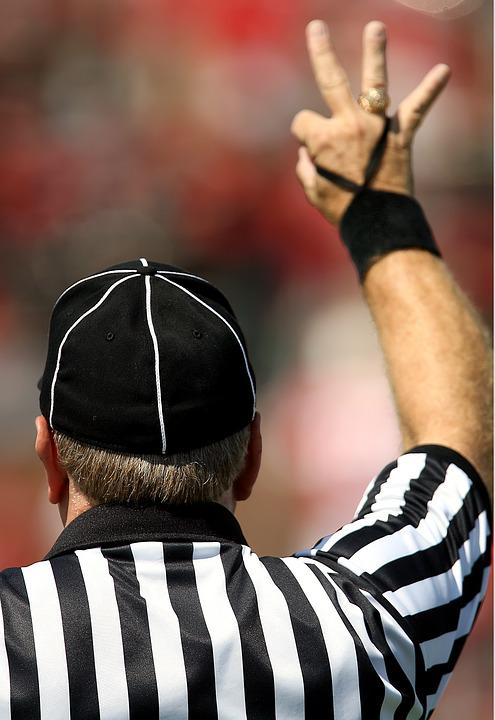 American Football Official, Referee, Football Referee