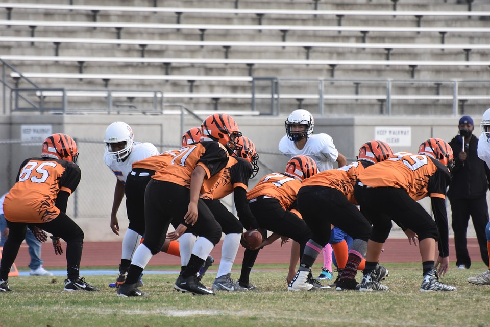 Football, Sports, School, Game, American Football