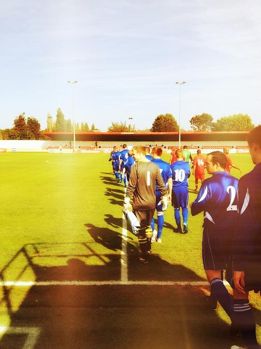 Football, Soccer, Pitch, Players, Sport, Ball, Goal