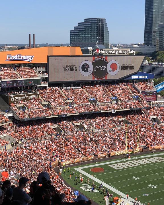 Stadium, Football, Sports, Cleveland, Cleveland Browns