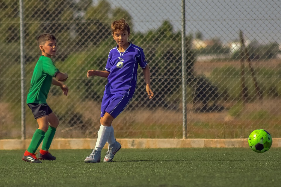 Football, Soccer, Footballer, Young, Sport, Child, Game