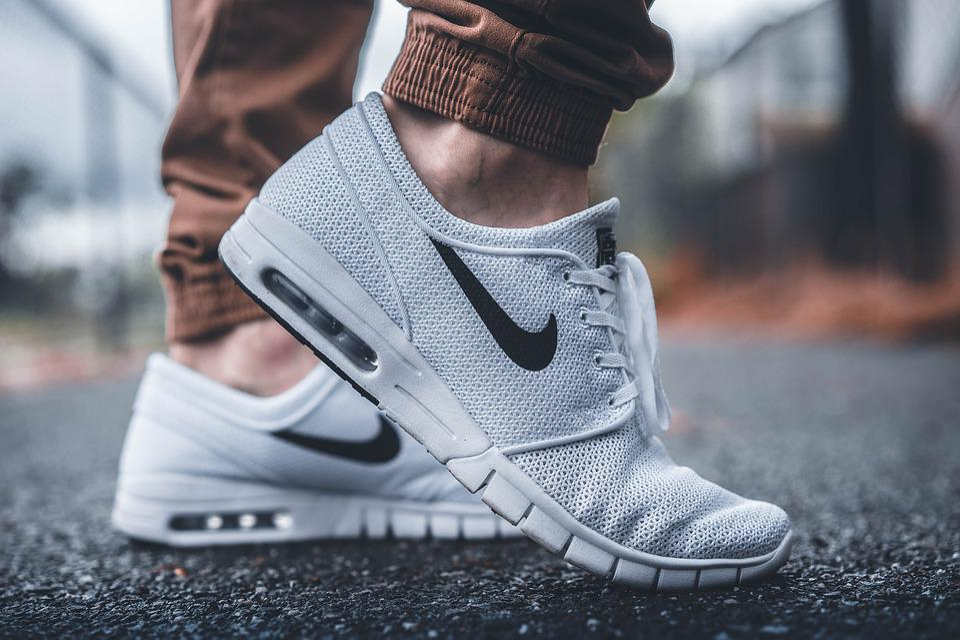 Feet, Footwear, Nike, Shoes, Sneakers, White