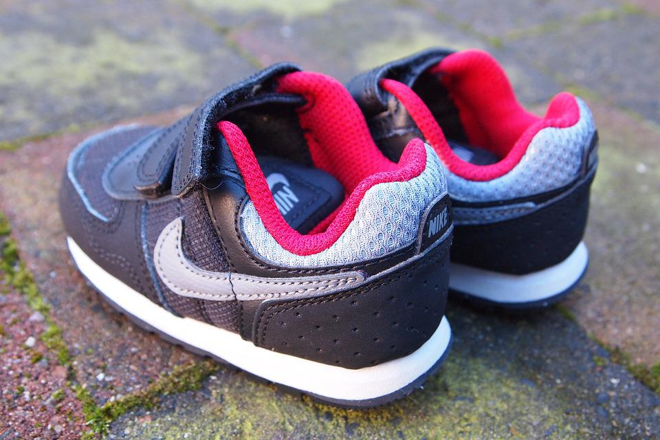 Shoe, Baby, Nikes, Sneakers, Small Shoes, Footwear