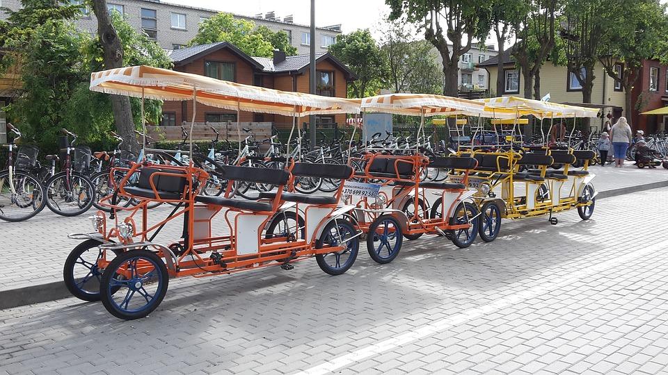 Bike, Skate, For Children, Palanga, Lithuania