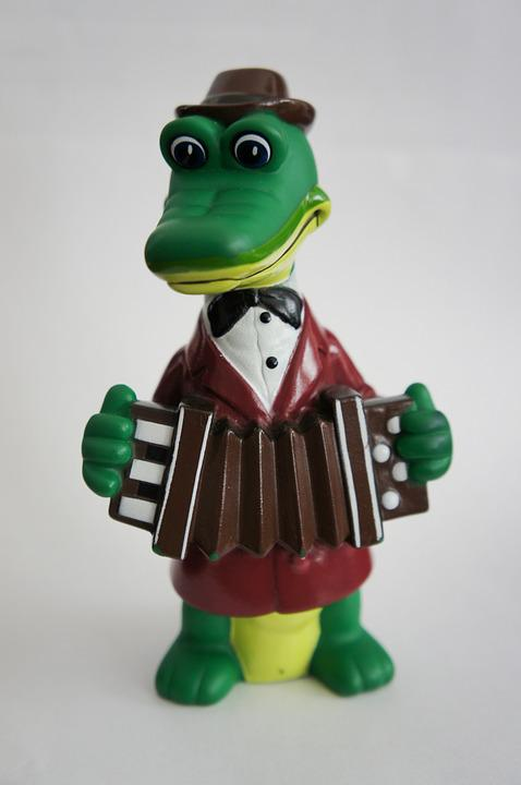 Toy, Crocodile, For Children, Entertainment