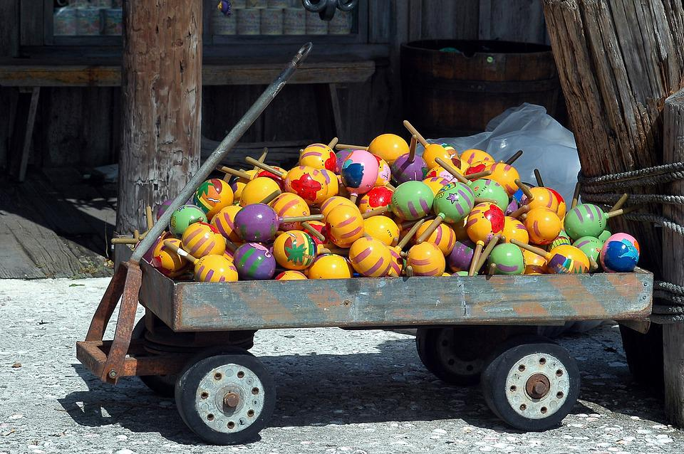Maracas, Colorful, For Sale, Sell, Market Place