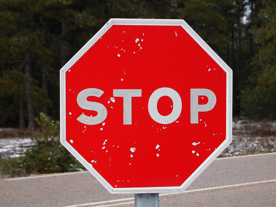 Stop, For, Signal, Red