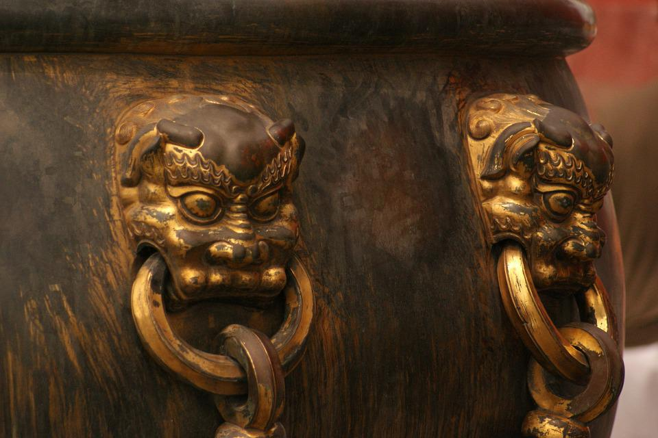 Architecture, Beijing, Forbidden City, Asia, China