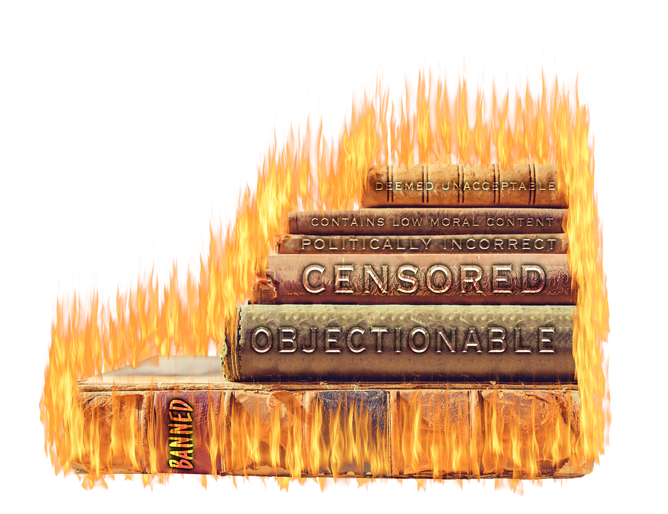 Censorship, Banned, Forbidden, Transparent, Isolated