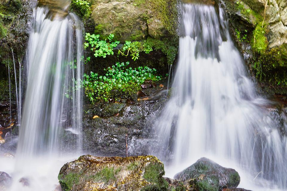 Water, Waterfall, Stones, More, Nature, Force Of Nature