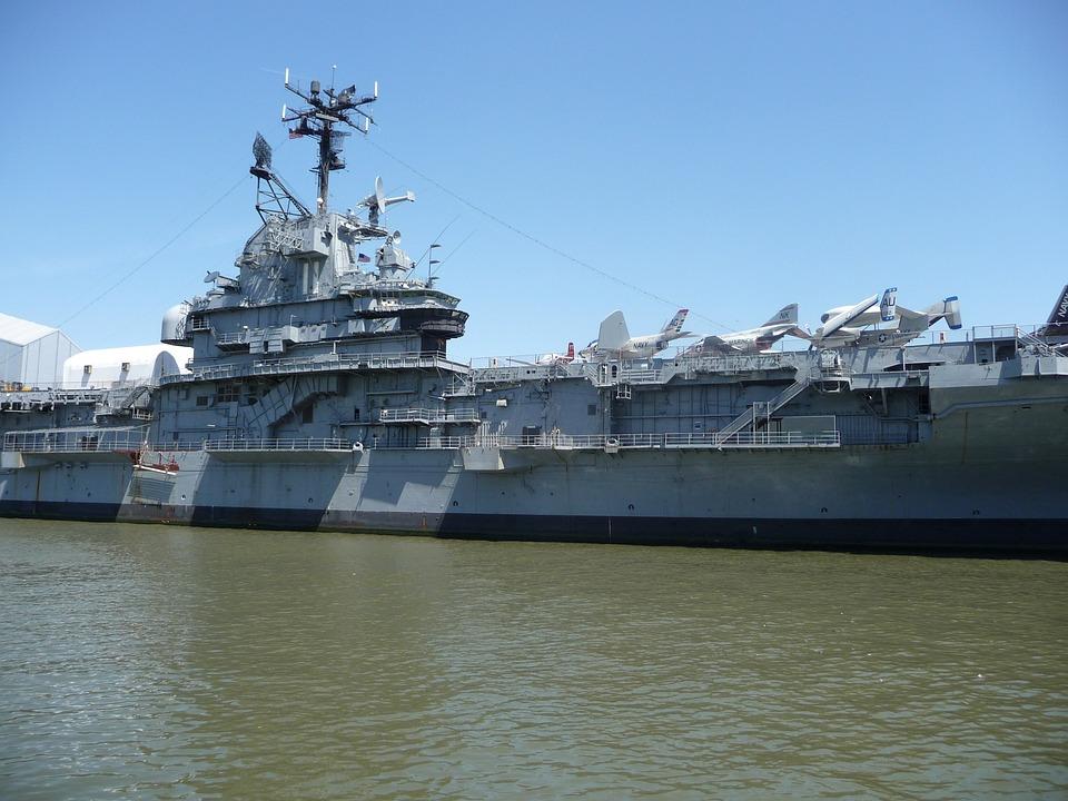 Ship, Aircraft Carrier, Port, Battle Ships, Force