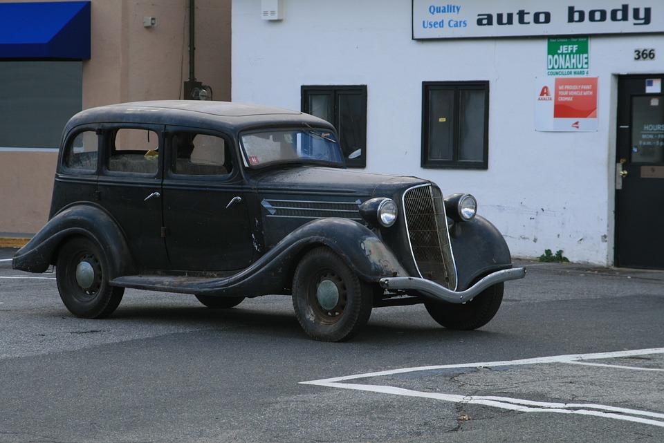 Free photo Ford Auto Classic Automobile Antique 1930s Car - Max Pixel