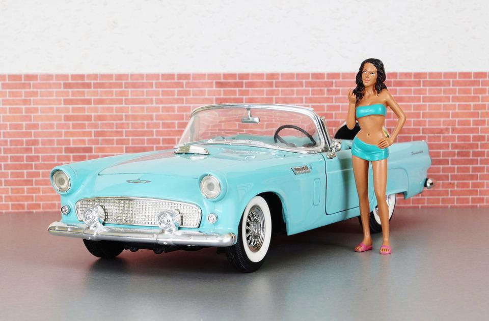 Free photo Ford Auto Ford Thunderbird Toy Car Old Model Car - Max Pixel