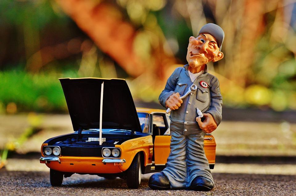 Ford, Capri, Mechanic, Model Car, Vehicle, Oldtimer