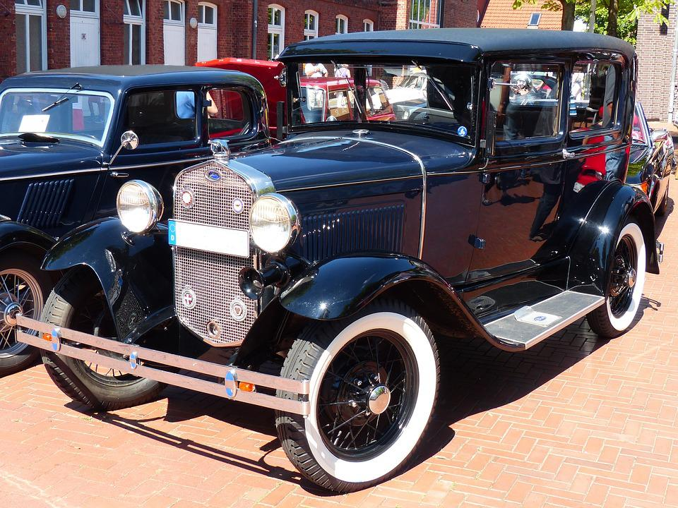 Ford Model A Tudor Esdan, Ford, Oldtimer, Automotive