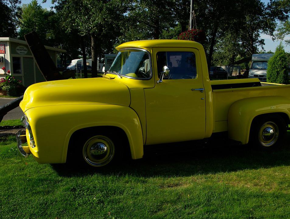 Truck, Ford, Old Vehicle