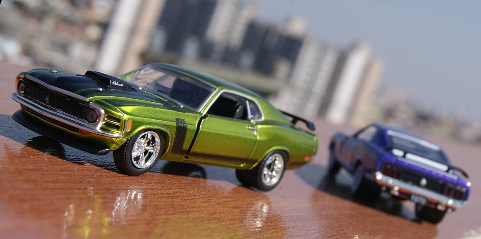 Mustangs, Car, Toy, Scale, Miniature, Ford