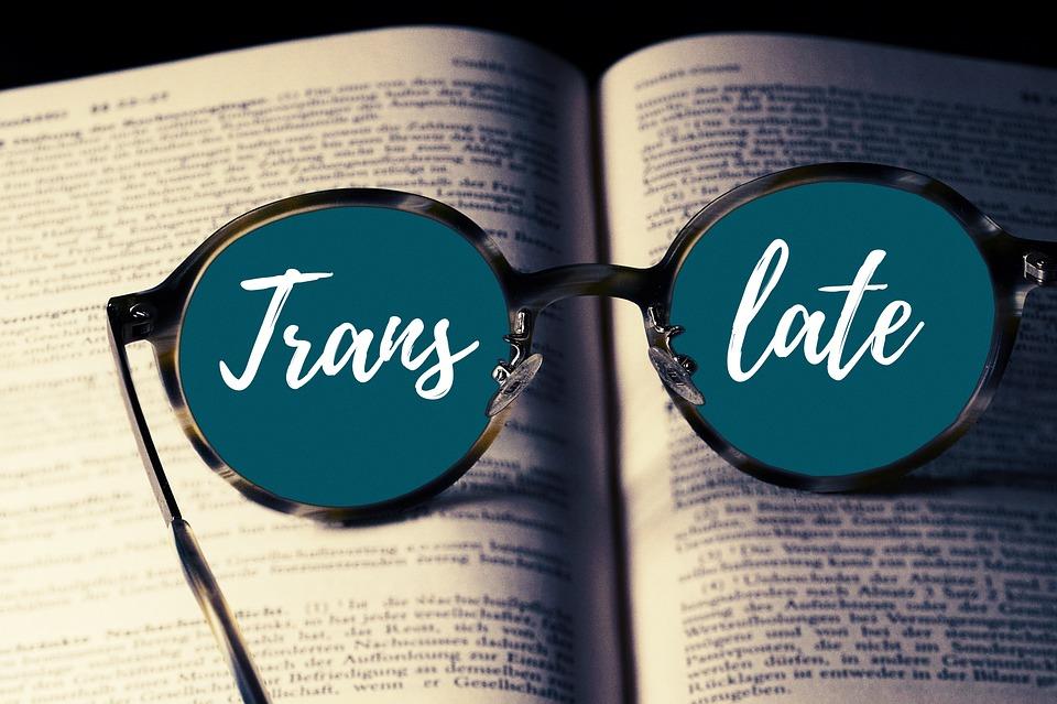 Book, Glasses, Translate, Translation, Foreign Language