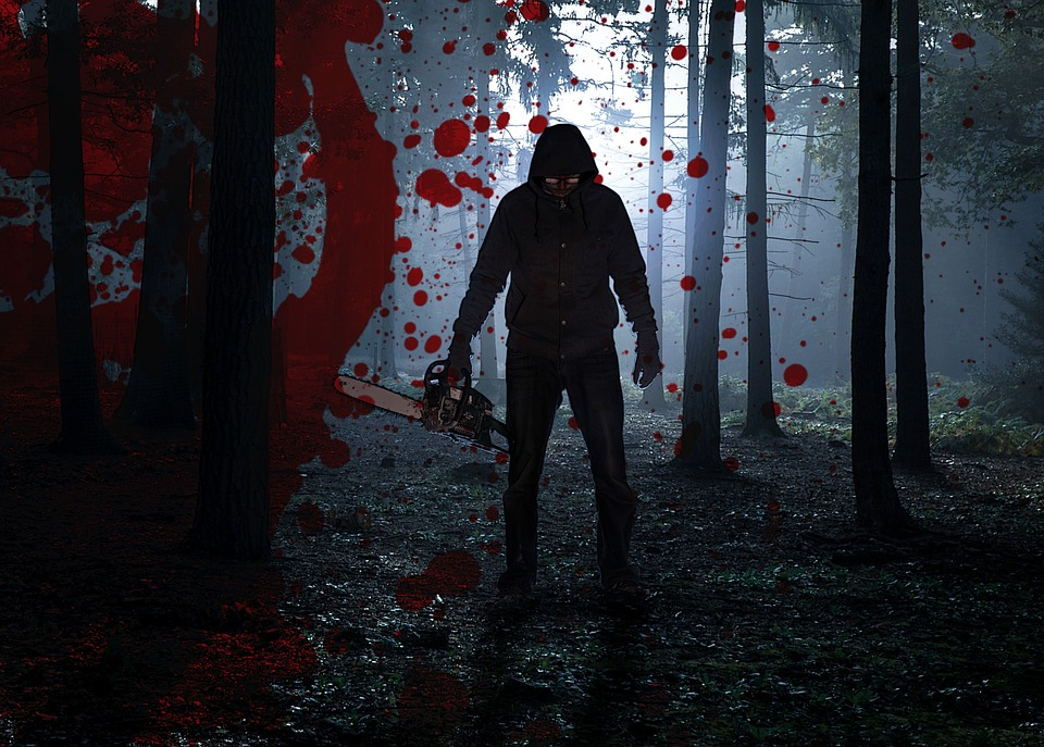 Blood, Fear, Phobia, Trembling, Halloween, Forest