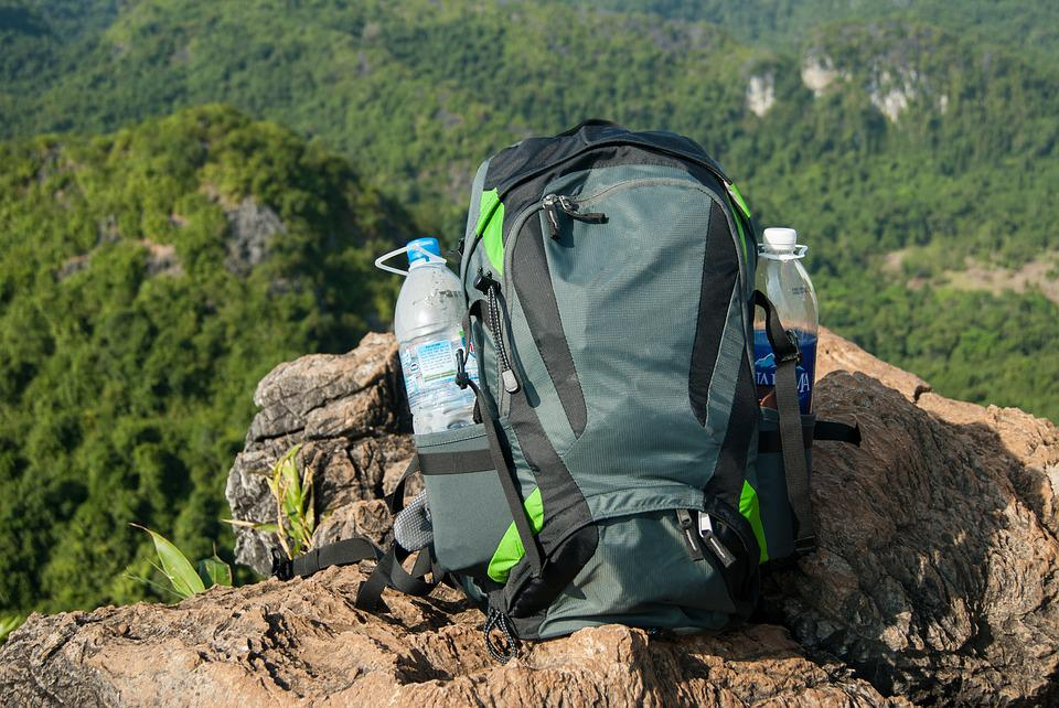 Backpack, Hiking Backpack, Hiking, Mountains, Forest