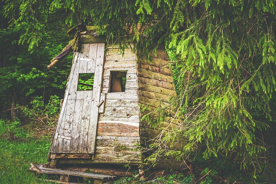 Erdsitz, Stalking Equipment, Hunting Seat, Wood, Forest