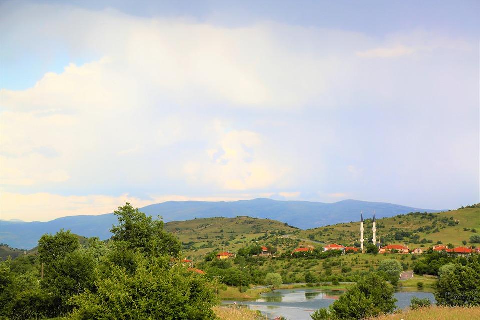 Landscape, Nature, Cami, Village, Rural, Forest, Sky