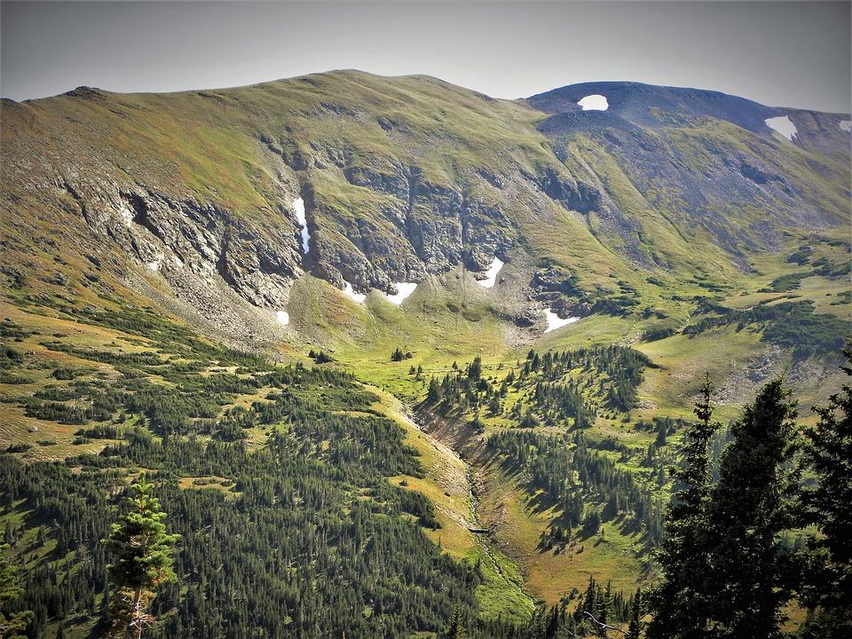 Rocky Mountains, Colorado, Vista, Forest, National Park