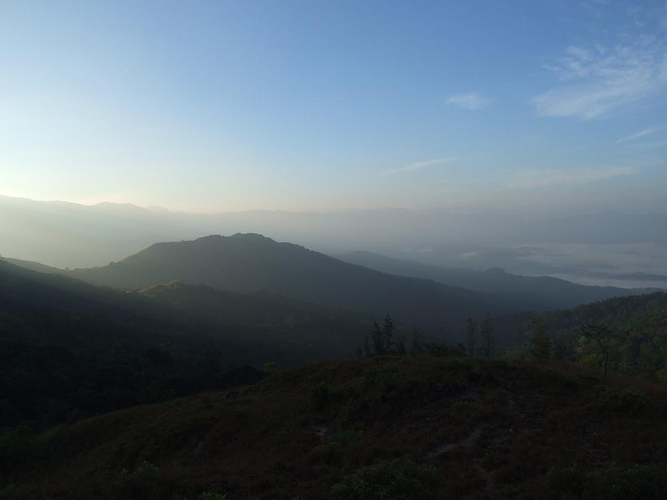 Sun, Nature, Scenic, India, Forests, Western Ghats
