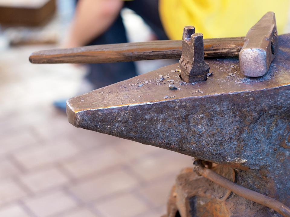 Free photo Forge Hammers Workshop Work Iron Forging Anvil - Max Pixel