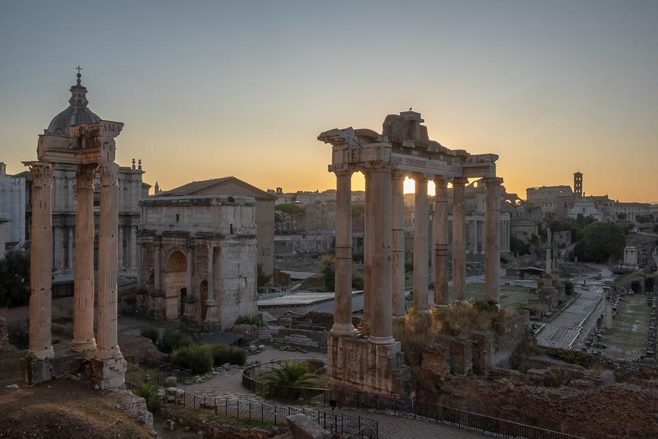 Roma, Rome, Foro Romano, Fori Romani, Italy, Travel