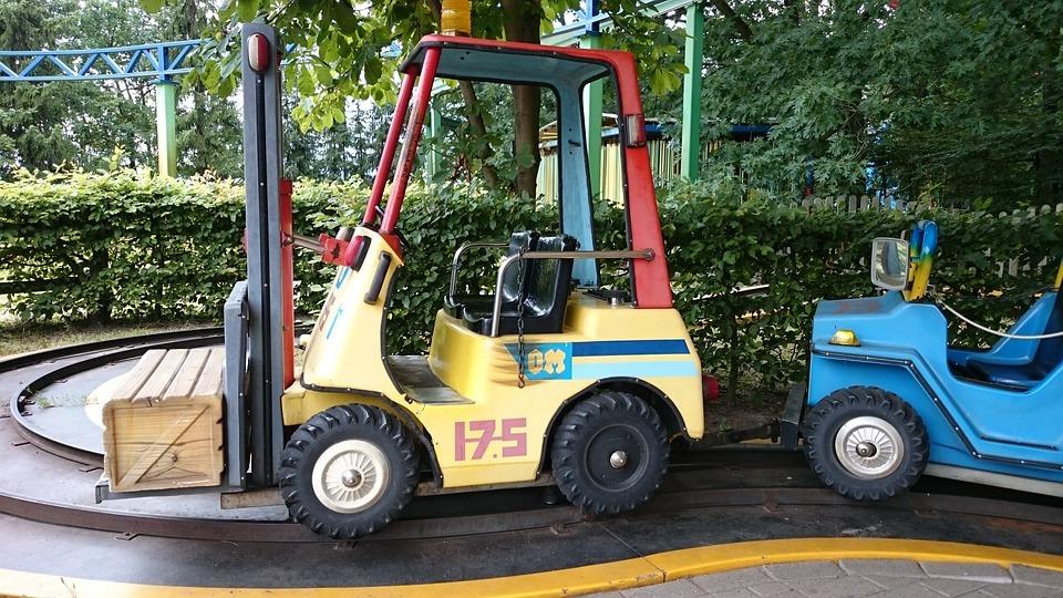 Forklift, Erse Park, Theme Park, Carousel