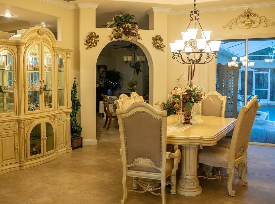 Formal Dining Room, Interior Design, Dining, Pool