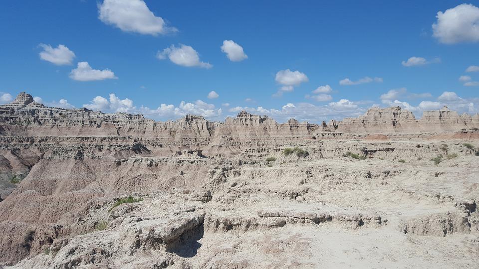 Badlands, Nature, Formation, Geology
