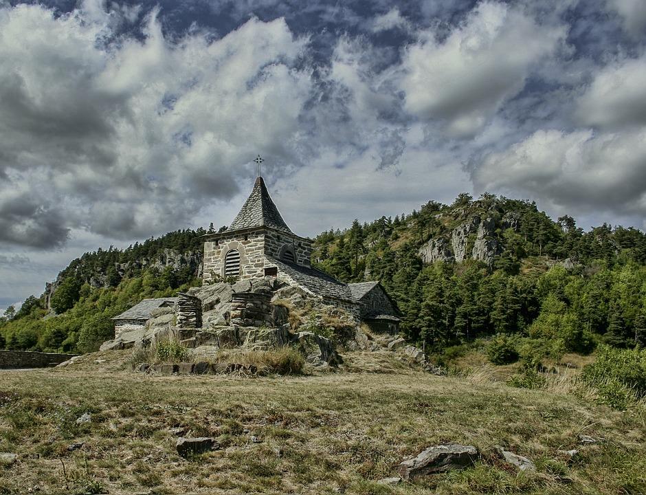 Glavenas, Church, Former, France, Buildings, History