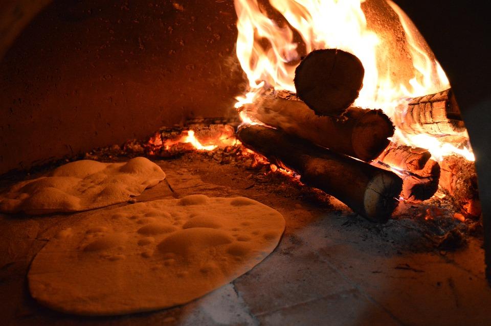 Pizza, Forna Firewood, Coal, Mass, Firewood